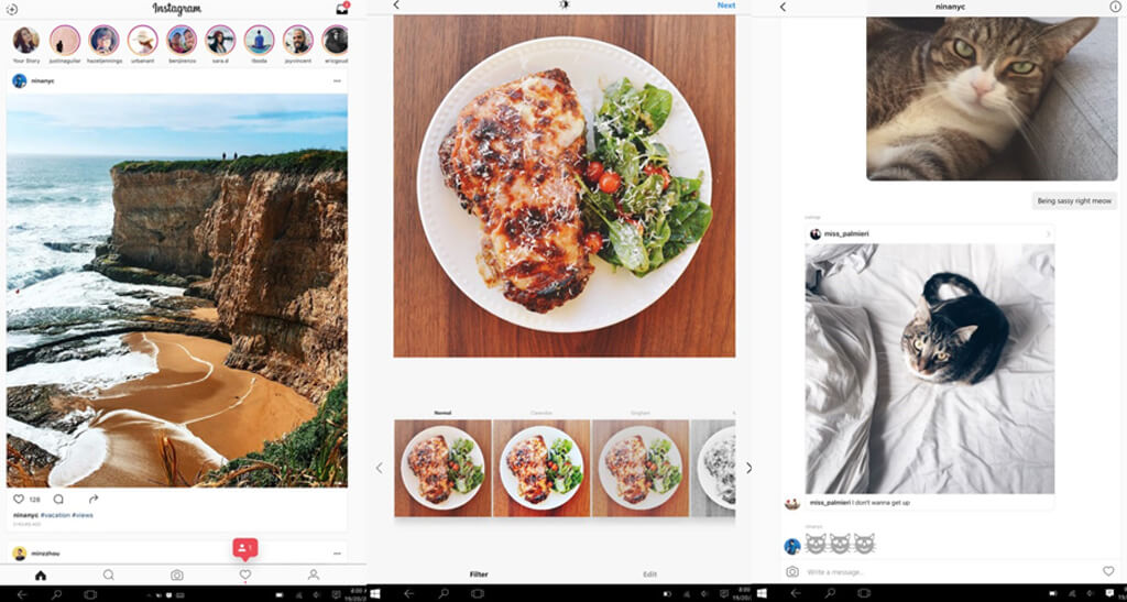 Instagram Windows Desktop App